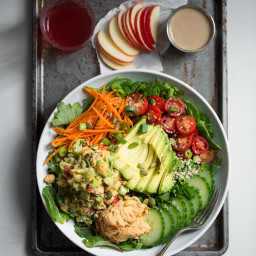 hummussquaresalad 6477 256x256   Exciting News! Plus, The Nourish + Glow Miracle Bowl
