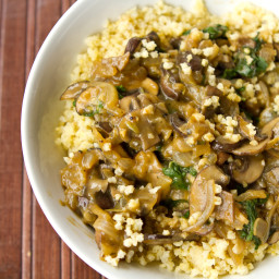 IMG 7761 256x256   Cozy Millet Bowl with Mushroom Gravy and Kale