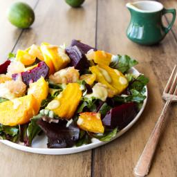 IMG 7975 256x256   Citrus Beet Salad with Creamy Avocado Lime Dressing