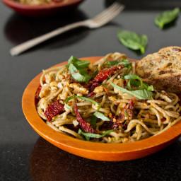 IMG 9896 256x256   Lightened Up Sundried Tomato Basil Pesto Pasta