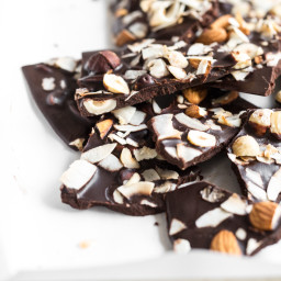 "veganchocolatebarksquare 6691 256x256   Crazy Good Coconut Oil ""Chocolate"" Bark"